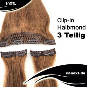 Halbmond 3 teilig Clip In Extensions