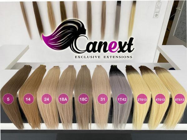 Tape Extensions Farbtabelle Teil 2 Canext Bremen