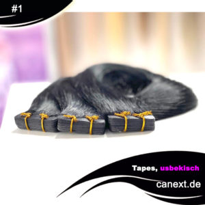 Tape Extensions Farbe #1 Schwarz Shop