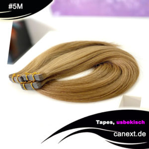 #5M Tape Extensions Natur Dunkelblond